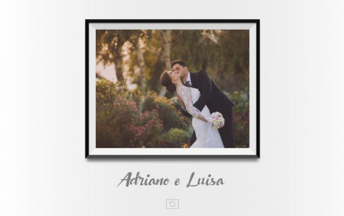 Adriano e Luisa - Copertina